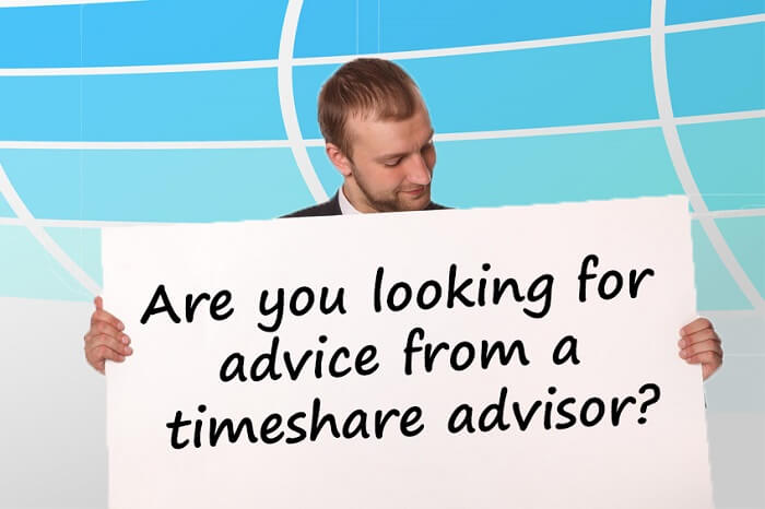looking for advice from a timeshare advisor