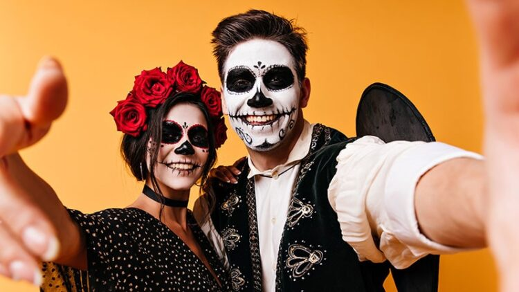 Day of the Dead mexican celebration